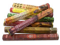 HEM indische Premium Räucherstäbchen mit fein abgestimmten Rezepturen aus natürlichen Zutaten.