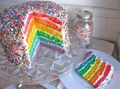 """Totally reminds me of the mean girls quote """"I wish I could bake a cake filled with rainbows and smiles and everyone would eat and be happy"""" hahah"""