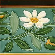 Risultati immagini per art nouveau tiles