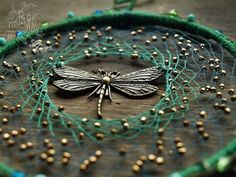 Dragonfly dreamcatcher