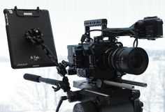 photo by Band Pro Munich. #F5 #F55 rig from #movcam