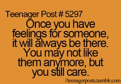 Agreed. Once you care about someone you can't forget like it never happened. They'll always be a part of you