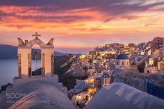 Santorini Glow by MaxFoster #architecture #building #architexture #city #buildings #skyscraper #urban #design #minimal #cities #town #street #art #arts #architecturelovers #abstract #photooftheday #amazing #picoftheday