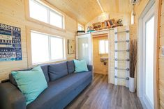 Lofty Lofts in Uncharted Tiny Homes Mansion & Mansion Jr. - Tiny House Blog