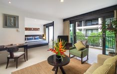 Make time to celebrate the joys of life with your loved ones at #TheCamakilaLegianBali. Our cavernous Dala-dala Suite is adorned with elegant accents that overlooks the entirety of the resort. Made up of an impressive 50sqm, each suite is equipped with a spacious living room, a kitchenette, and its own private balconies. If travelling with family, the suites can easily be adjoined with deluxe rooms with twin beds.  #Legian