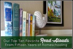 Top Ten Favorite Read-Alouds from 15 Years of Homeschooling