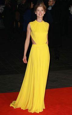 Rosamund Pike's Style Evolution  - Rosamund Pike in 2012