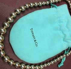 Tiffany & Co. Ball Bead Graduated Necklace Sterling Silver $266