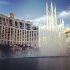 Bellagio Hotel and Fountain Show