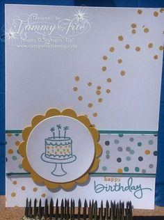 Endless birthday wishes  Stampin' Up!