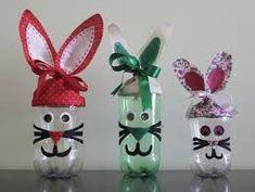 pet para crianças artes - Buscar con Google Kids Crafts, Bee Crafts, Easter Crafts, Crafts To Sell, Janmashtami Decoration, Plastic Bottle Crafts, Diy Easter Decorations, Diy Gifts For Kids, Easter Activities