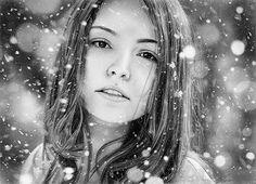 Amazing Photo-Realistic Pencil Drawings - 2 - Pelfind