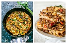 In the latest Cool Mom Eats weekly meal plan, we've got 5 easy, family friendly dinner recipes for the week ahead including genius sheet pan quesadillas and lemony chicken cutlets in 35 minutes. Healthy Family Dinners, Easy Weeknight Dinners, Easy Meals, Chicken Cutlets, Recipe For Mom, Quesadillas, One Pot Meals, Meals For The Week, Quesadilla