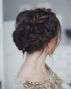 21 Wedding updos with braids Modern take on braids