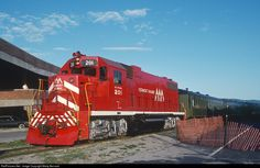 RailPictures.Net Photo: VTR 201 Vermont Railway EMD GP38-2 at Rutland, Vermont by Marty Bernard