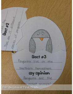 For the Love of First Grade: Plenty of Penguin Ideas and Printables