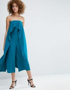 Buy ASOS Bandeau Jumpsuit with Ruffle Overlayer at ASOS. With free delivery and return options (Ts&Cs apply), online shopping has never been so easy. Get the latest trends with ASOS now. Baby Blue Maternity Dress, Maternity Dresses, Floral Midi Dress, Sequin Dress, Lace Dress, Frock And Frill, Garment Of Praise, Bandeau Jumpsuit, Ruffles