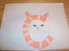 C is for cat - cute letter activities turning the letter c into c words