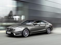 It's so sexy! Mercedes-Benz CLS63 AMG = My Car