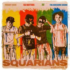 Hip Hop ChicZ: XV & The Squarians-Squarians Volume 1 (mixtape)