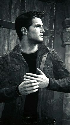 Nathan Drake. . He must be thinking of Elena . .