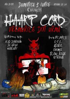 "Haarp Cord - Lansare album ""Vremurile din urmă"" | tscarena.ro Cord, Hip Hop, Comic Books, Album, Comics, Movie Posters, Fun, Events, Magazine"