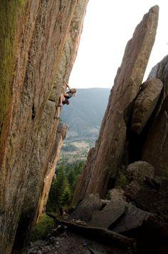 Rock climber Tiffany Hensley