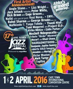 Cape Town Jazz Festival...