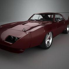 Royalty free Dodge Charger Daytona Hemi 1969 3D Model by RenderSteel. Available formats: .max .c4d .obj .3ds .fbx .lwo .stl - 3DExport.com