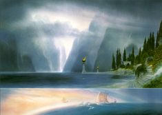 'The Grey Havens', by John Howe
