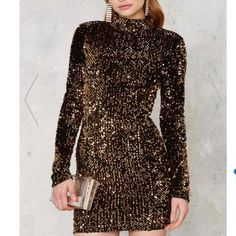 Nasty Gal El Mirage Sequin Dress NYE 🍸🎊 Perfect for a night out Nasty Gal Dresses Mini