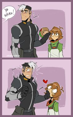 This is me and the fiance 100% [Shiro, Pidge ©2016 Netflix/Dreamworks ] -- [Sept. 2016]