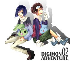 Digimon 02 Adventure by Lilyリリィ via http://www.pixiv.net/member_illust.php?id=1500582