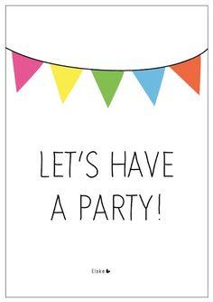 let's have a party! | Elske