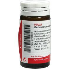 BERBERIS-SEPIA comp.Globuli:   Packungsinhalt: 20 g Globuli PZN: 08784509 Hersteller: WALA Heilmittel GmbH Preis: 5,99 EUR inkl. 19 %…