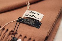 Acne Studios Clothing Label