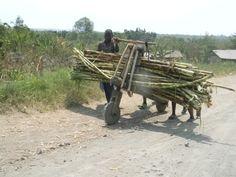El triciclo congoleño que hace milagros