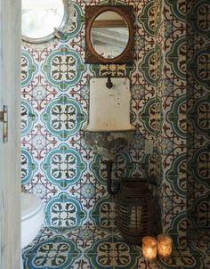Moroccan tile, charm