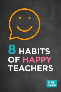 8 Daily Habits of Happy Teachers WeAreTeachers is part of Weareteachers - We polled some of the happiest teachers we know and this is what they told us The common denominator Positive daily habits Teacher Organization, Teacher Tools, Teacher Hacks, Best Teacher, School Teacher, Teacher Resources, Teacher Stuff, Teacher Tired, Teacher Binder