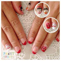Chinese New Year #paintshoppenails #eastcoastroad #singapore #nails #nailart #manicure #pedicure
