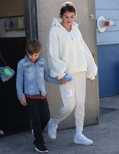 March 26: Selena leaving an ice skating rink in Los Angeles, California.