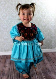 #cute #little #girl in #national #dress