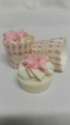 Mini soap cupcakes