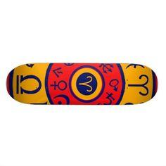 Taurus the Bull skateboard design from my Zazzle shop:  www.Zazzle.com/WitchesHammer