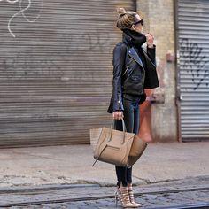 cool Современные женские кожаные куртки (50 фото) — Модные луки 2017 Check more at https://dnevniq.com/kozhanye-kurtki-zhenskie-foto/