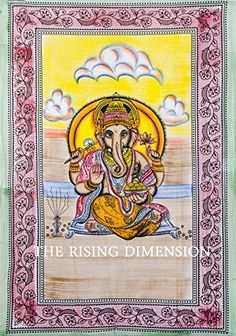 Twin Indian Lord Ganesh Bedcover, Indian Tapestry, Indian Wall Hanging, Hippy Hippie Tapestry, Ganesha Bedcover, Ganesh Wall Hanging. India Labhanshi http://www.amazon.co.uk/dp/B00NDL7QDW/ref=cm_sw_r_pi_dp_2ASQub1D4WDPA