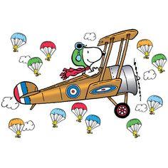 f0f3cb8f64491 Peanuts Giant Flying Ace Snoopy Bulletin Board Set