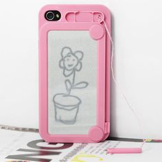 Oh my gosh, this would bring back SO many great childhood memories! A Magna-Doodle iPhone case :)