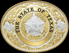 Texas State Buckle