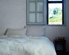 Toulon Dove Grey Bed Linen | The Linen Works
